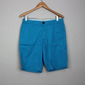 Original Penguin Bright Blue Slim Shorts sz 29
